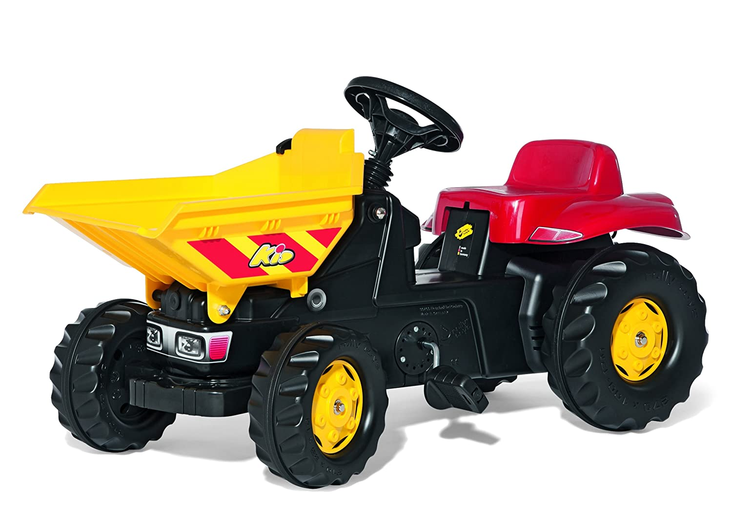 Rolly Dumper Kid Tractor, Red/Yellow