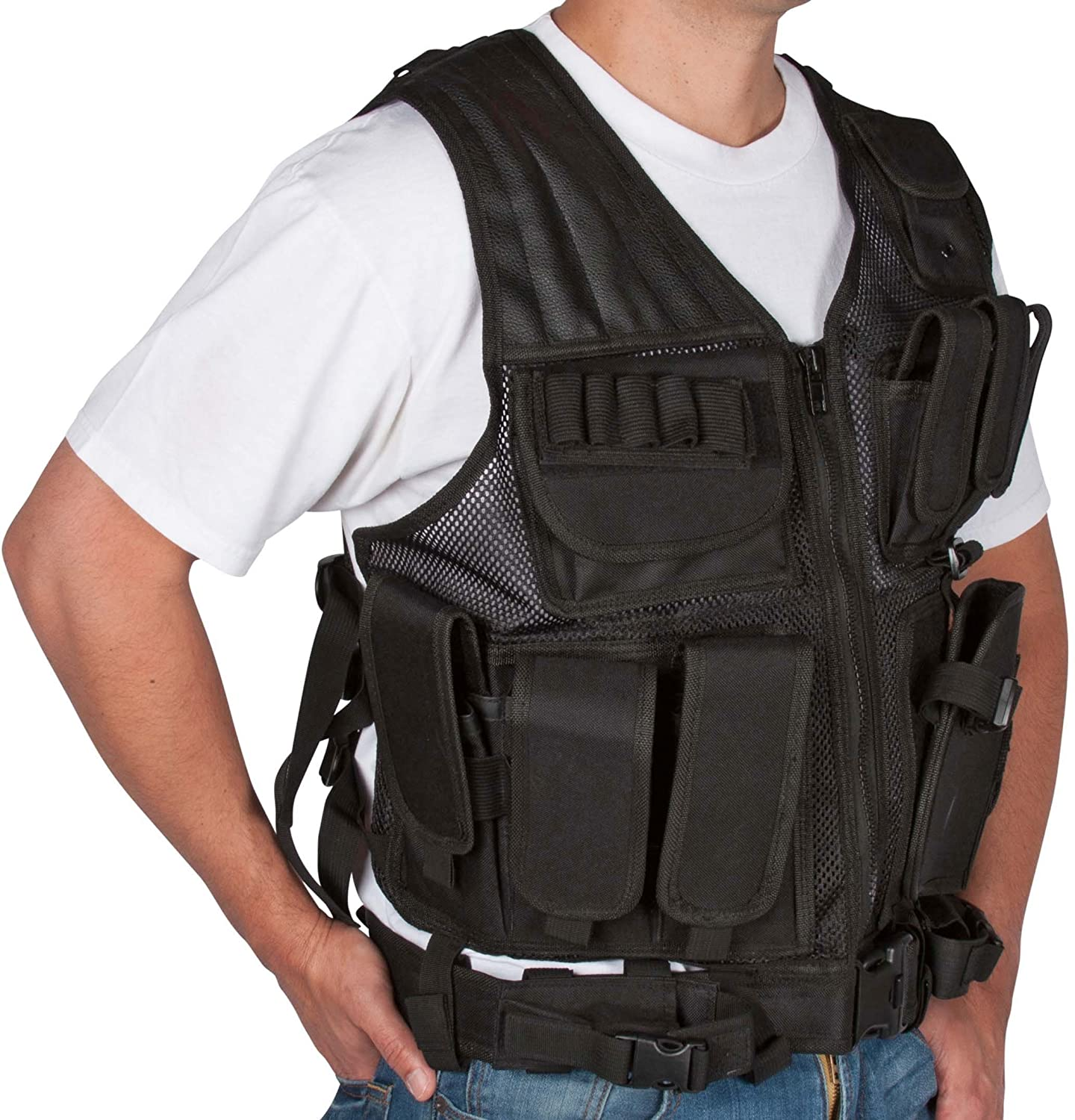 Tactical Vest With Pistol Holster Tactical Vest With Holster