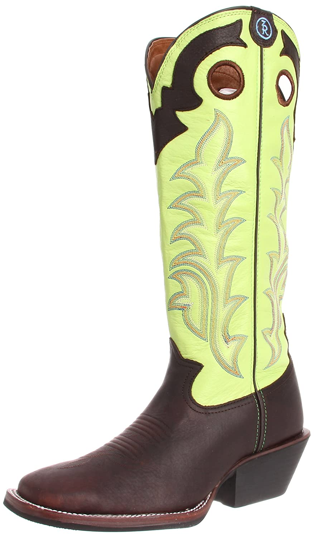 38b8145afd9 Tony Lama Boots Men's RR1006 Boot,Auburn Maverick/Prairie Baron Calf,9.5 2E  US | $164.95 - Buy today!