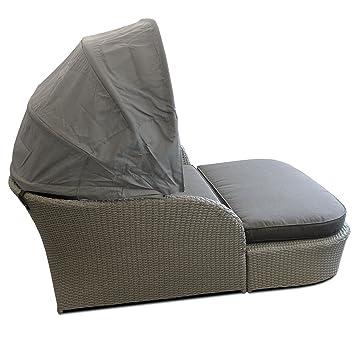 wohaga gartenmuschel in xxl 192x160x145cm poly. Black Bedroom Furniture Sets. Home Design Ideas