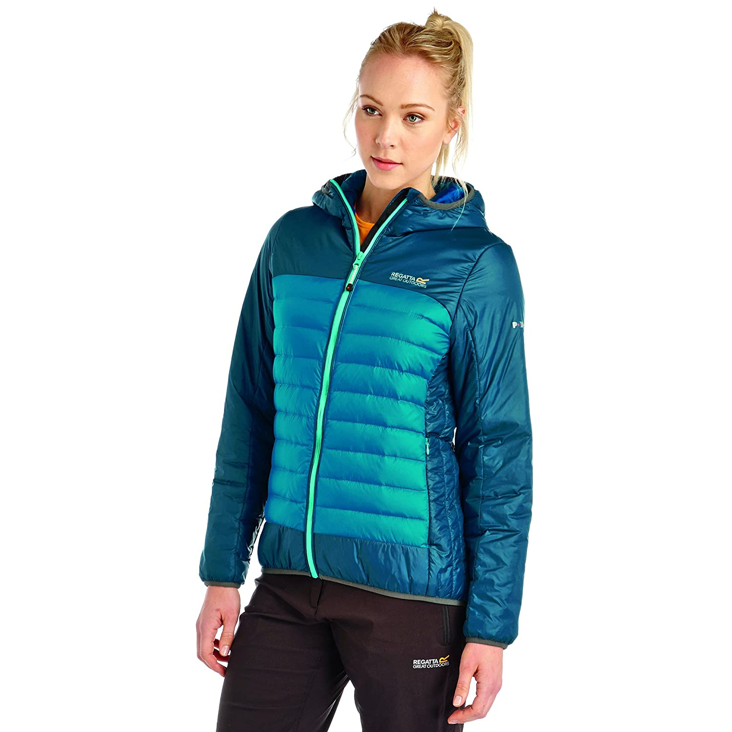 Regatta Great Outdoors Damen Point 214 Highfell Daunenjacke, wasserfest online bestellen