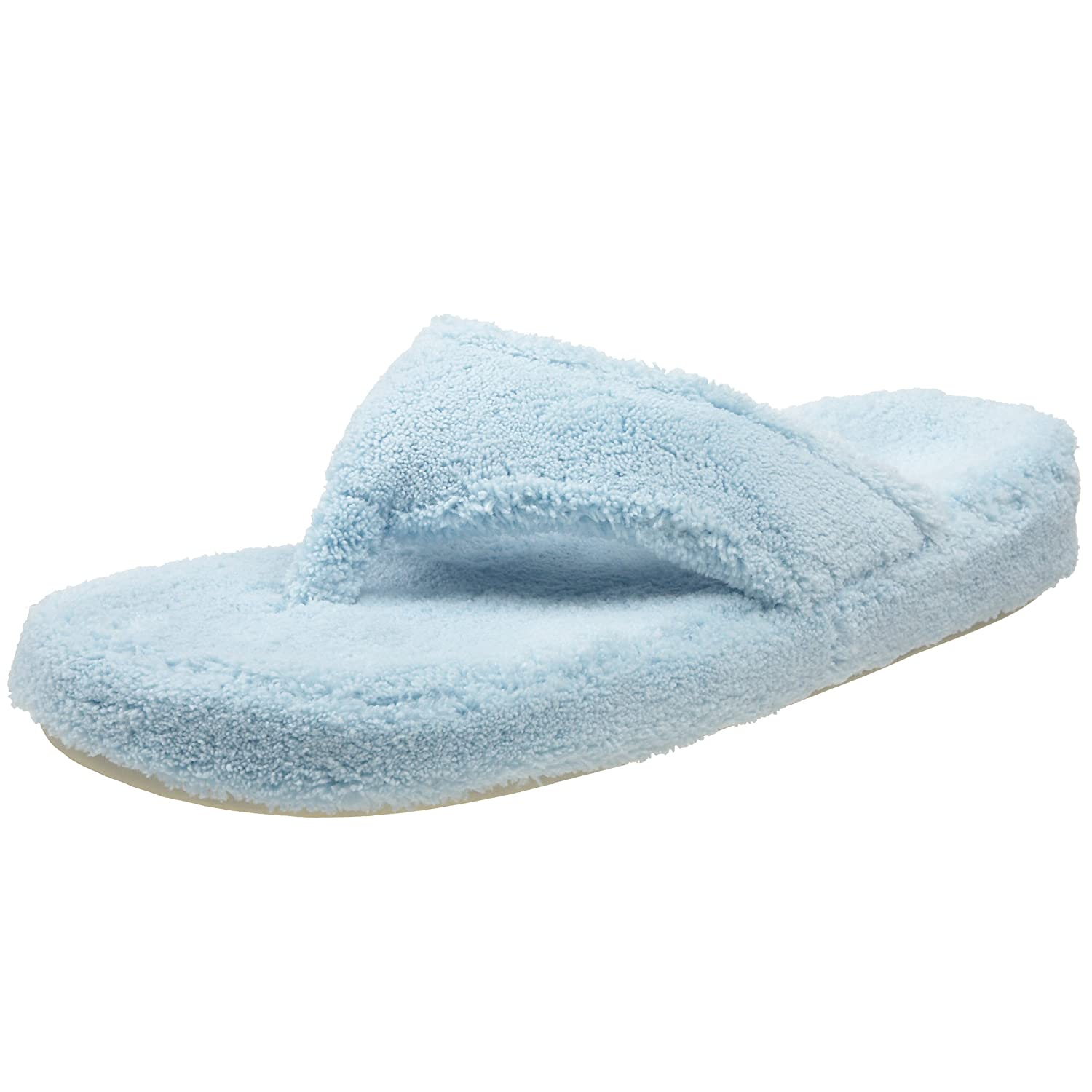 ACORN Women's New Spa Thong Slipper because of an acorn