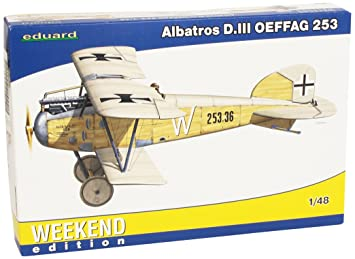 Eduard EDK84152 Albatross DIIIOeffag 253 1:48 Plastic Kit Maquette