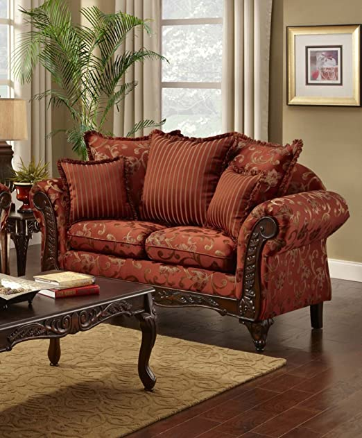 Chelsea Home Furniture Cecelia Loveseat, Sara Port