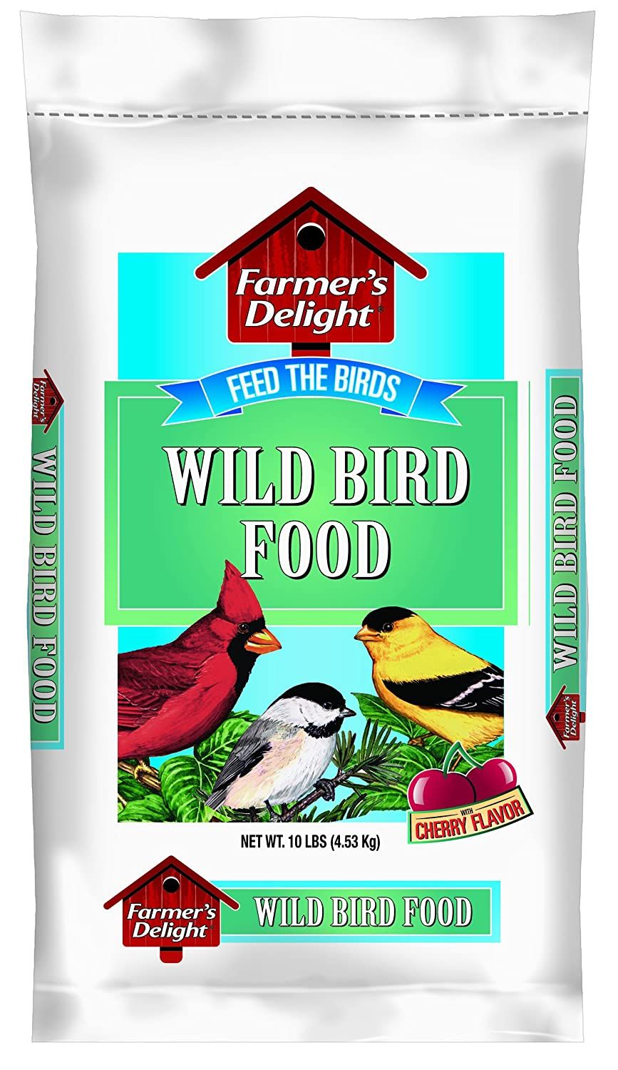 Wagner's Farmer's Delight Wild Bird Food, With Cherry Flavor, 10-Pound Bag