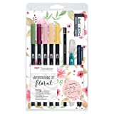 Tombow Watercolouring Set - Floral (Color: Floral)