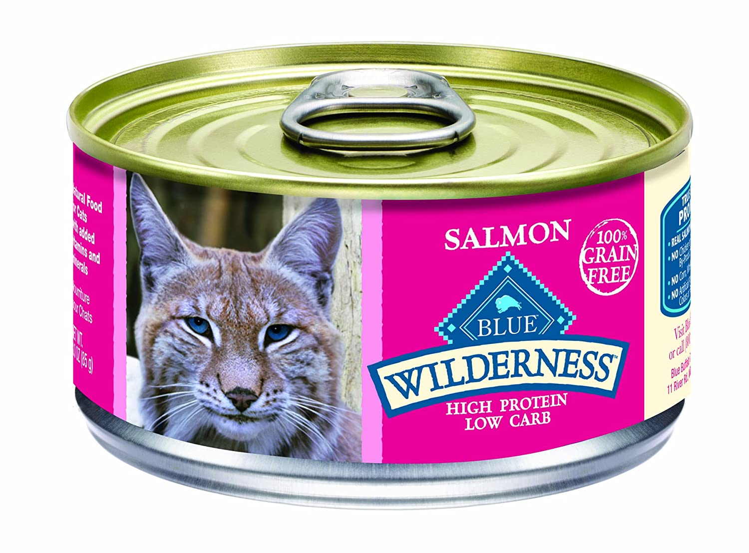 Blue Wilderness Salmon Canned Cat Food Is A Big Hit Here