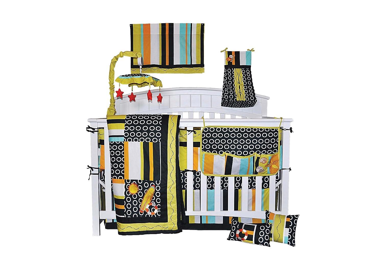 DK Leigh Surf Baby Crib Bedding