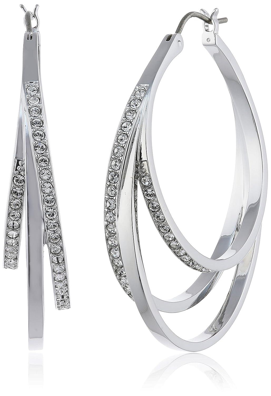 Swarovski Damen-Ohrhänger Metalllegierung Glas weiß – 5099219 bestellen