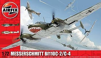 Airfix - A03080 - Maquette - Messerschmitt Bf110C/D