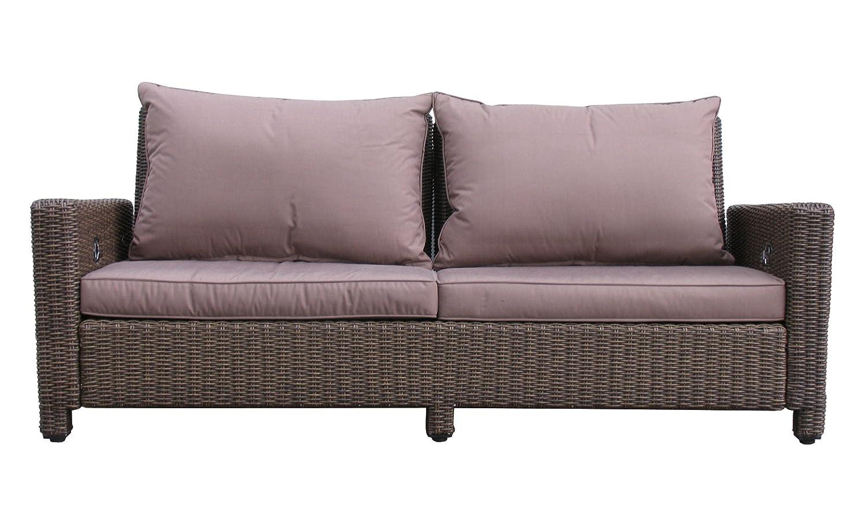 Lounge Sofa 3-sitzig Ibiza verstellbar kaufen