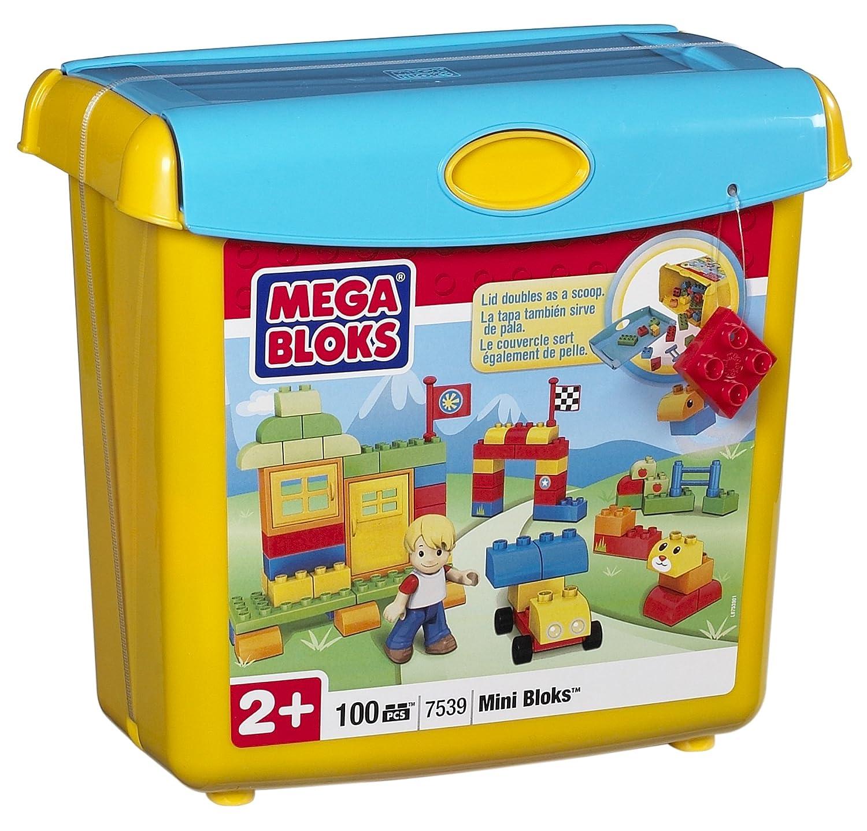 MEGA Bloks 7539 – Mini Bausteinebox mit Schippe, 100 teile als Geschenk