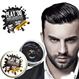 Play 'Do Temporary Hair Color, Hair Wax, Hair Clay, Mens Grooming, Pomade, Black hair dye(1.8 ounces) (Color: Black)