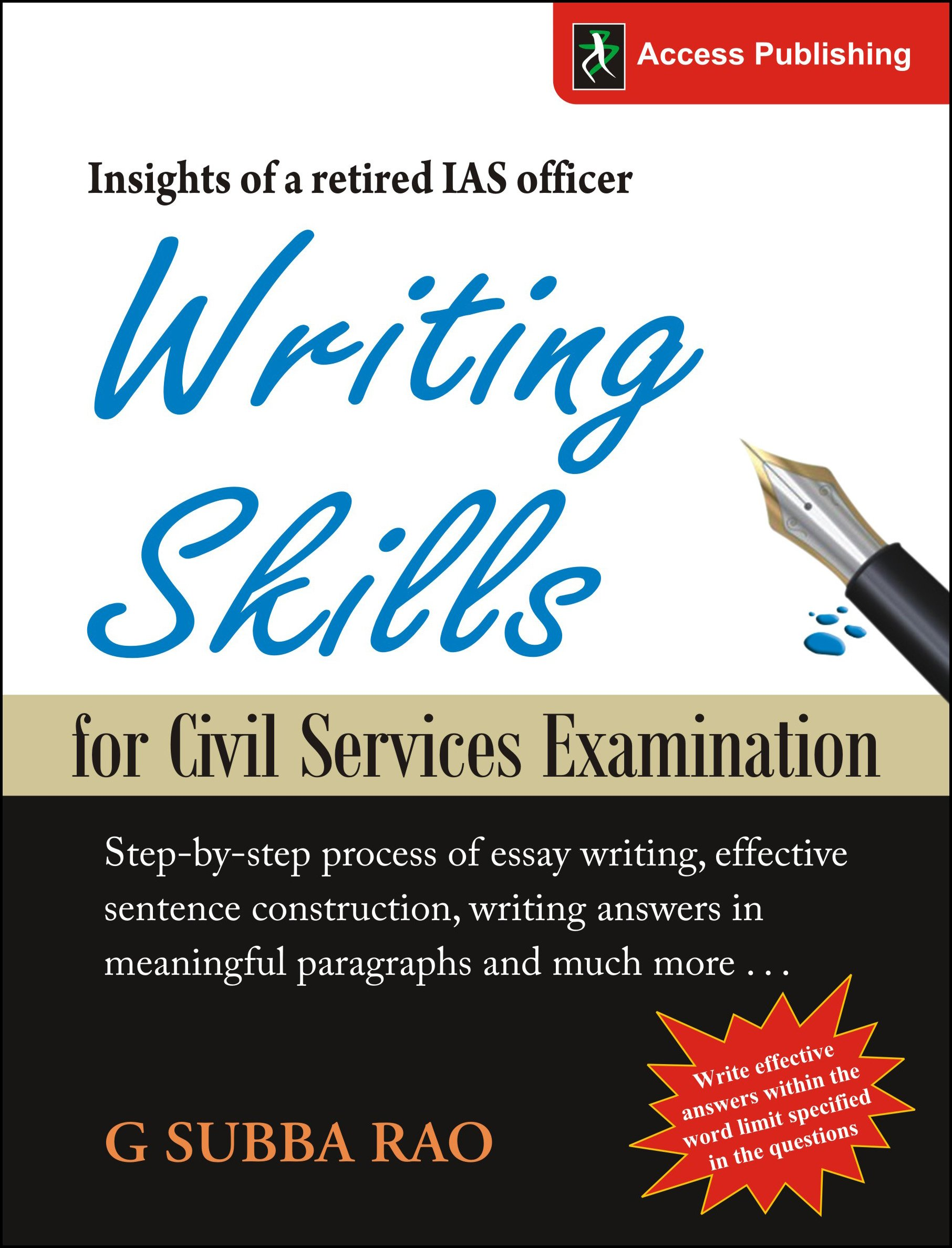 Civil service essay notification