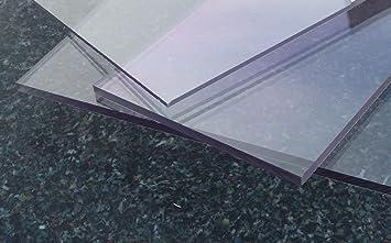 plaque en polycarbonate polycarbonate transparente 500 x 400 x 20 mm mm makrolon titan. Black Bedroom Furniture Sets. Home Design Ideas