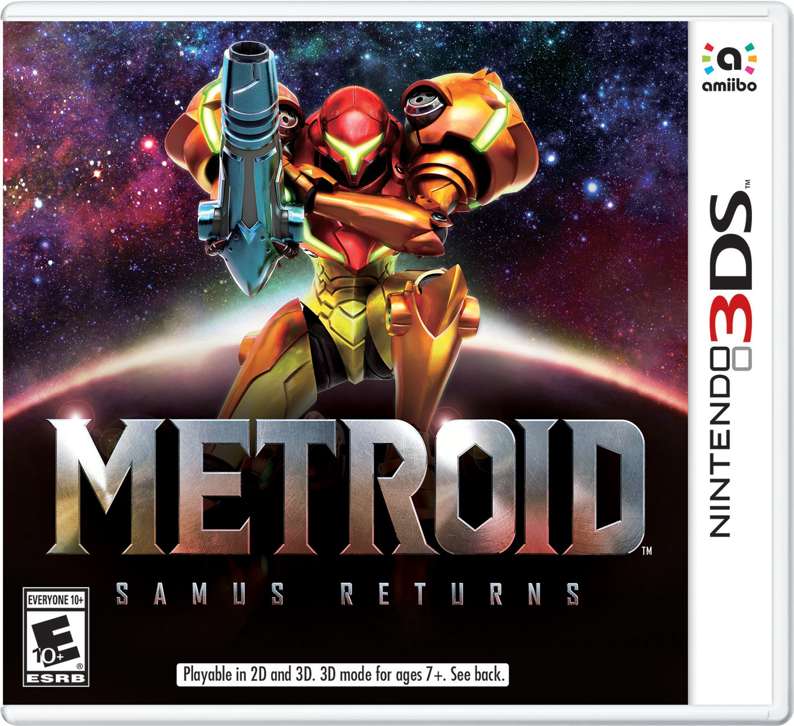 Metroid Samus Returns Nintendo 3DS