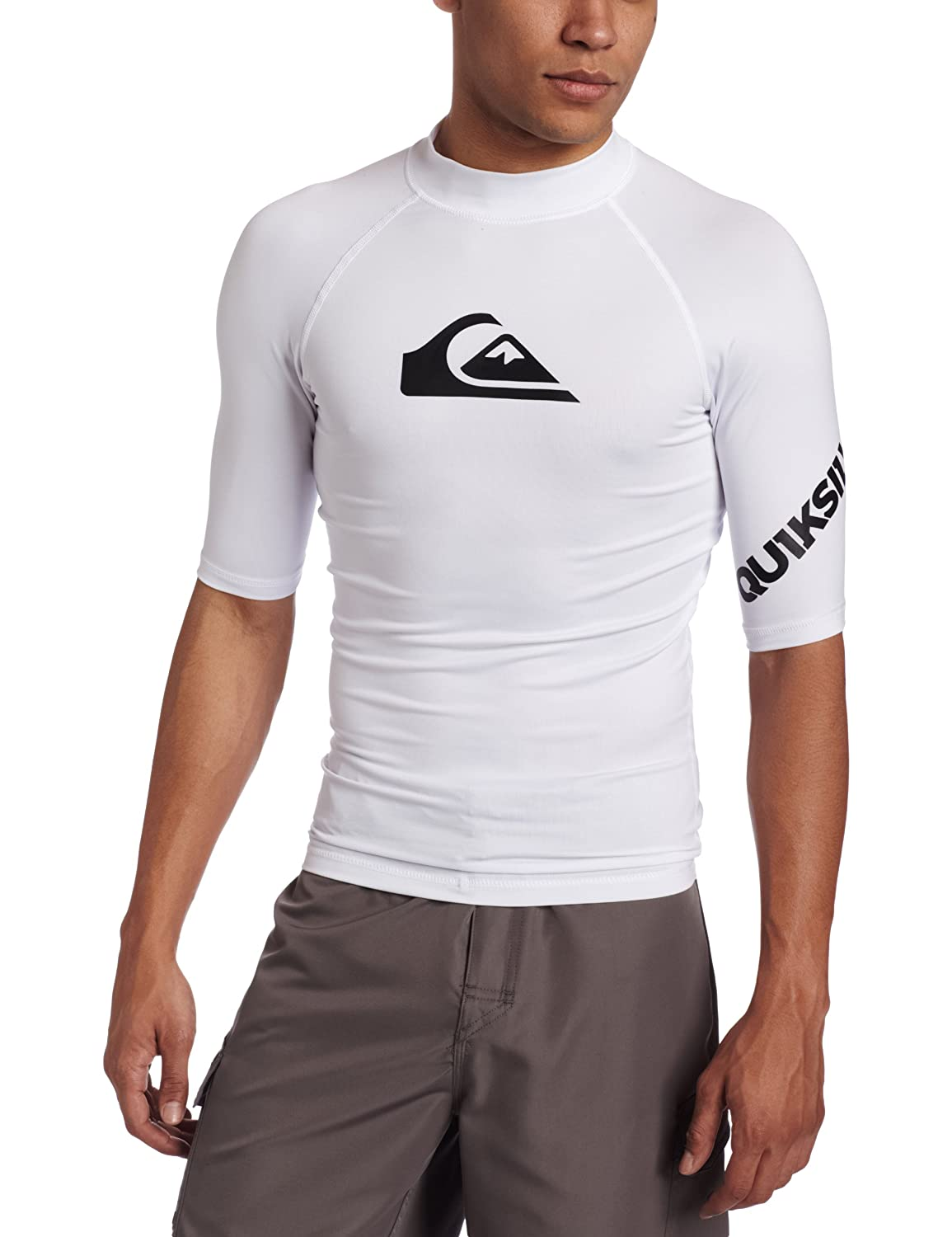 Quiksilver Mens All Time Short Sleeve Rashguard $19.95 - $29.95
