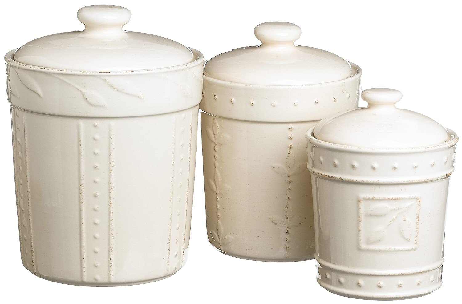 white kitchen canister set storage lid coffee flour sugar vintage flour and sugar canisters mushroom by