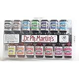 Dr. Ph. Martin's Radiant Concentrated Water Color, 0.5 oz, Set of 14 (Set A) (Color: Set a, Tamaño: 0.5 oz)