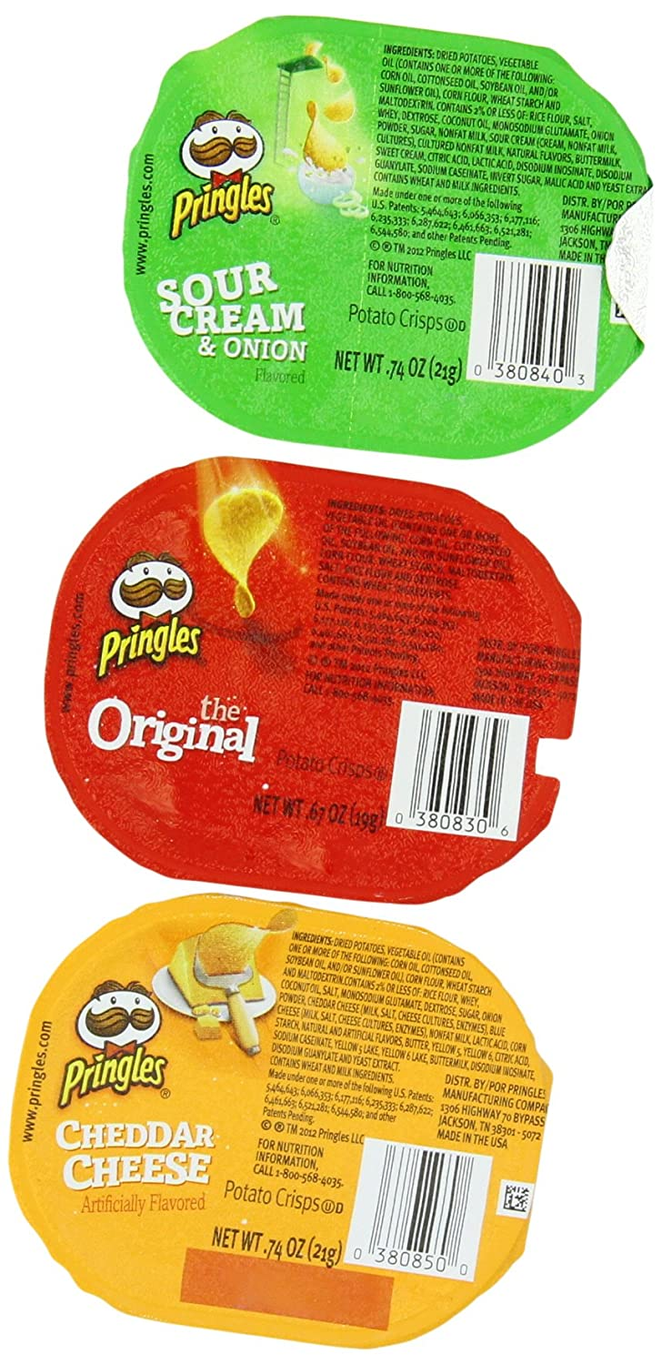 Pringles Variety Pack Potato Chips