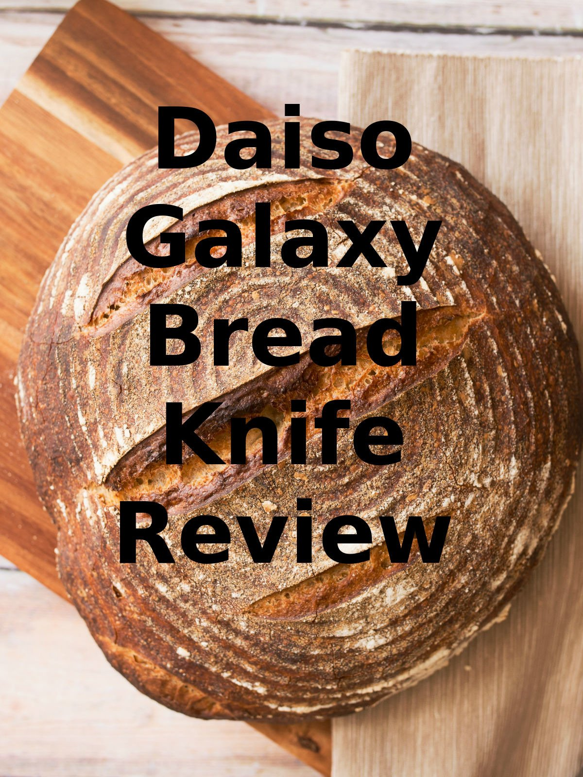 Review: Daiso Galaxy Bread Knife Review
