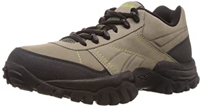 Reebok Boys' Adventure Cruiser Lp Olive, Lime and Black Sport Shoes 11 UK
