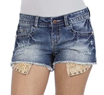 short shorts hanging pockets
