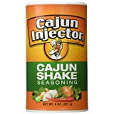 Cajun Injector Shake Seasoning 8oz Canister (Pack of 3) Quick Shake Spice