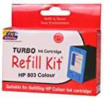 TURBO INK CARTRIDGE REFILL KIT 803