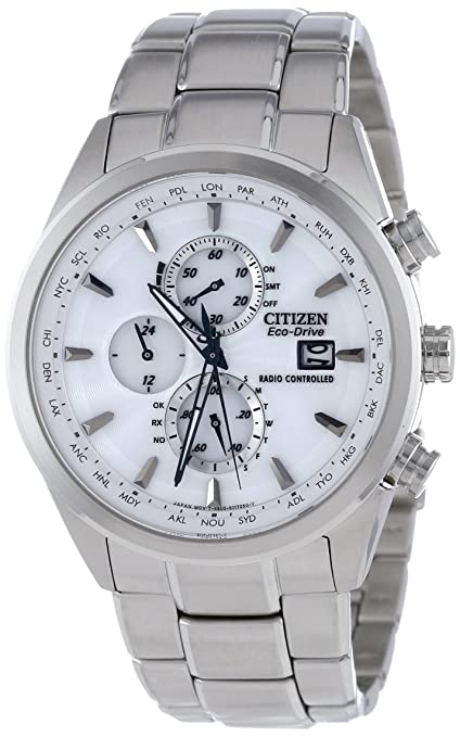 Citizen Men's AT8010-58B Eco-Drive World Chronograph A-T Watch-奢品汇 | 海淘手表 | 腕表资讯