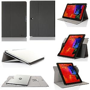 GearIT Samsung Galaxy Tab Pro / Note Pro 12.2 12,2 caso carcasas cubierta funda folio de piel  Electrónica revisión y descripción más