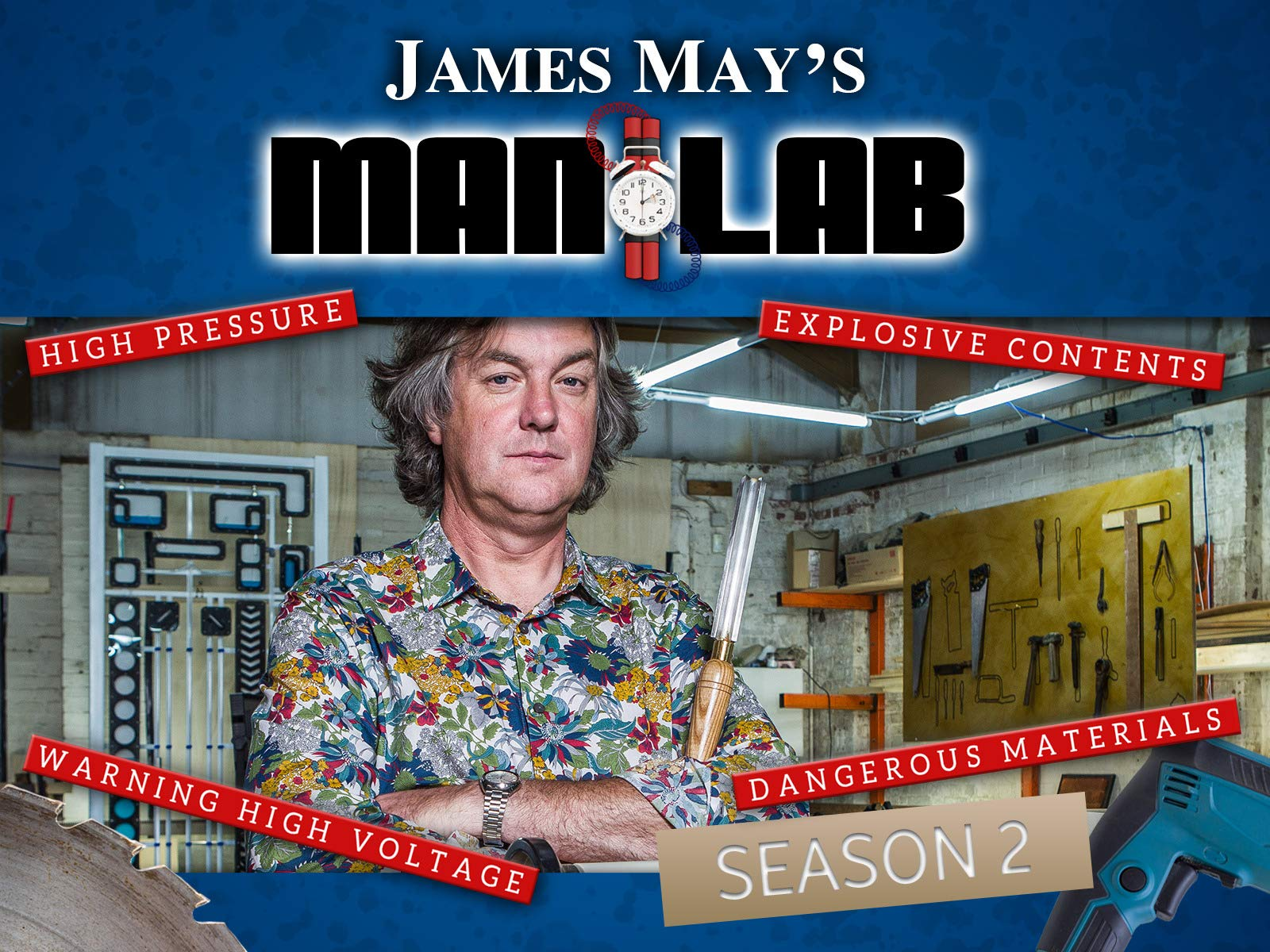 James May's Man Lab on Amazon Prime Video UK