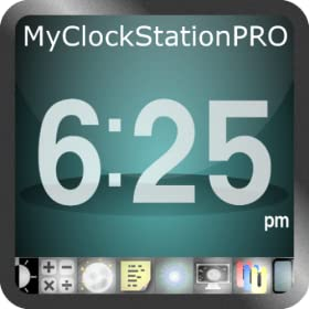 My Clock Station Pro - Alarm Clock, Soothing Sounds +MORE - Works In Sleep Mode!
