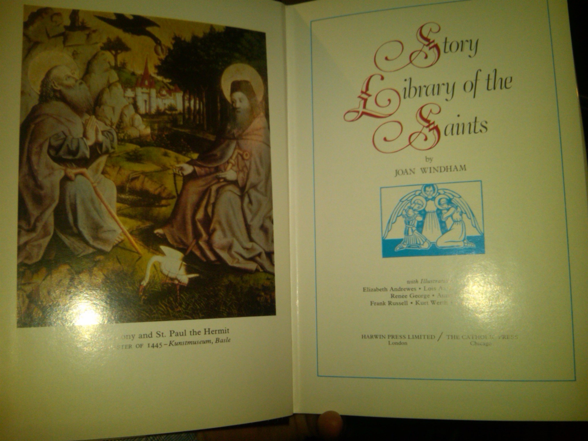 Story Library of The Saints Story Library of The Saints