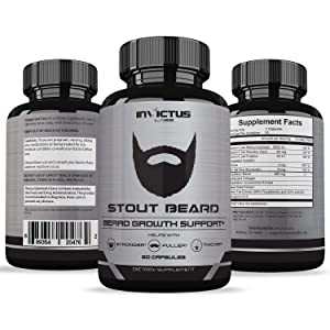 Extra Strength Beard Growth Vitamin Supplement - Grows