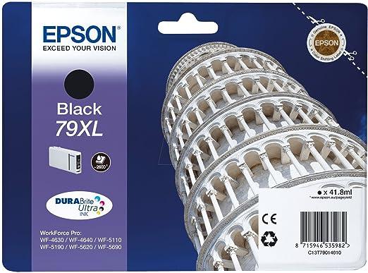 Epson -  T79XL Cartouche d'encre d'origine Durabrite Noir 2 600 pages