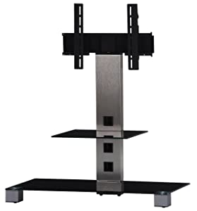Sonorous PL2500 Glass and Aluminium Stand for TV Sizes upto 42 inch       TVreviews