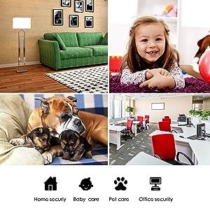 Security Camera 1080P WiFi Dog Pet Camera - KAMTRON Wireless Indoor