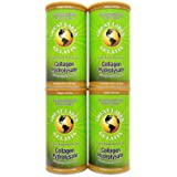Great Lakes Gelatin, Collagen Hydrolysate, Pasture-Raised Grass-Fed, Non GMO (4 Cans of 16 Ounces)