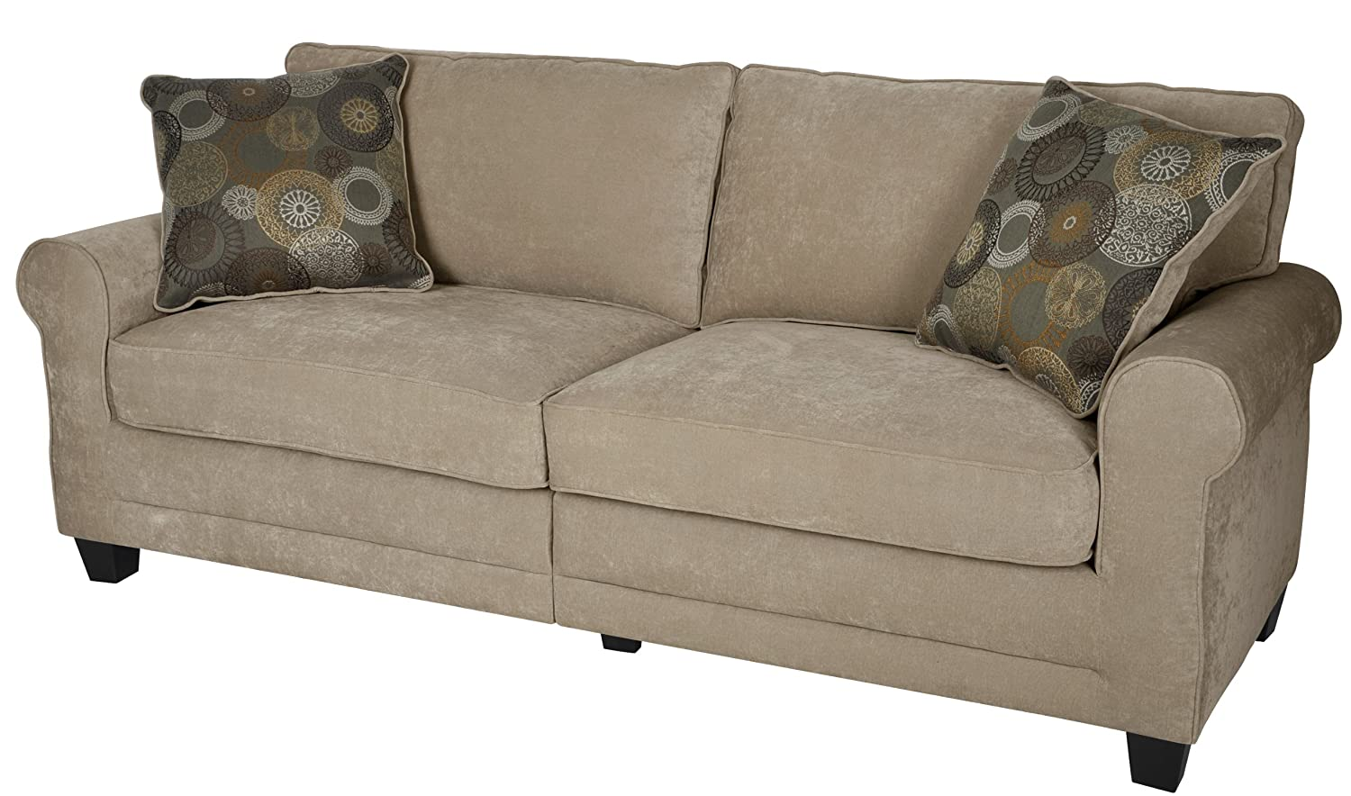Serta® RTA Copenhagen Collection 72 Sofa in Marzipan - CR43536PB