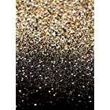 Daniu Gold Glitter Sequin Spot Backdrops Starry Sky Shining Astract Photo Background Party Wedding Children Newborn Photography Studio Props (Color: Daniu-dn015_7x5FT, Tamaño: 7X5FT (width 210m x Height 150cm))