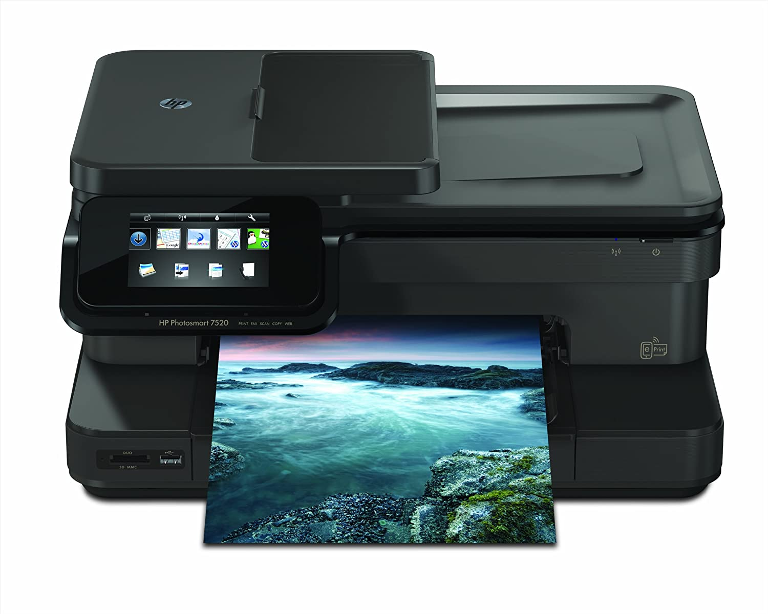 HP Photosmart 7520 e-All-in-One Tintenstrahl