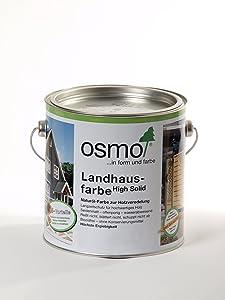 Osmo Landhausfarbe 2716 Anthrazitgrau 2,5l Gebinde  GartenKundenbewertung und weitere Informationen