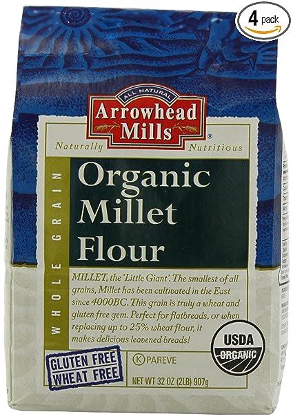 Organic millet flour gluten free