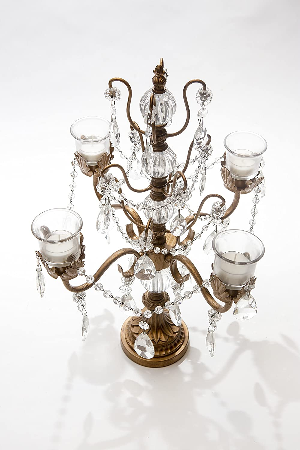 wedding candelabra candle holders floor or centerpieces