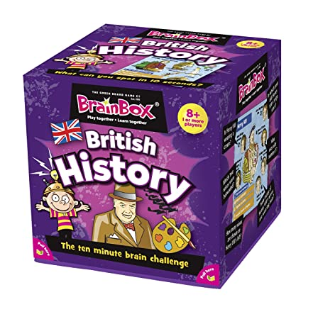 BrainBox English History (Import Grande Bretagne)