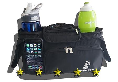 Stroller Organizer | Diaper Bag , Fits Umbrella, Britax, Schwinn, Baby Trend, and most others,