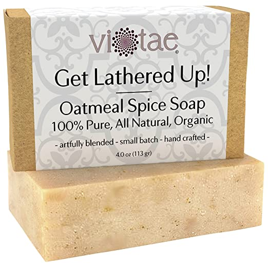 Certified Organic OATMEAL Soap