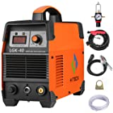 Plasma Cutter 40A 220V Electric DC Inverter Air Plasma Cutting Machine CUT40 Metal Cutter HITBOX (Color: Orange, Tamaño: 40A)