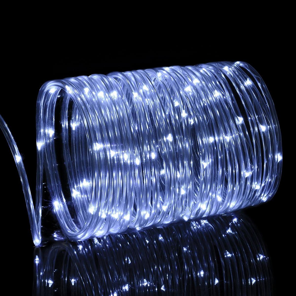 Solar Rope Lights Outdoor, Oak Leaf 41ft 100LED LED Rope